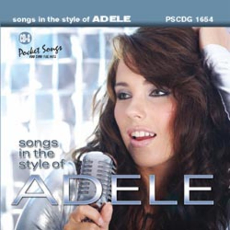 SING THE HITS ADELE CDG
