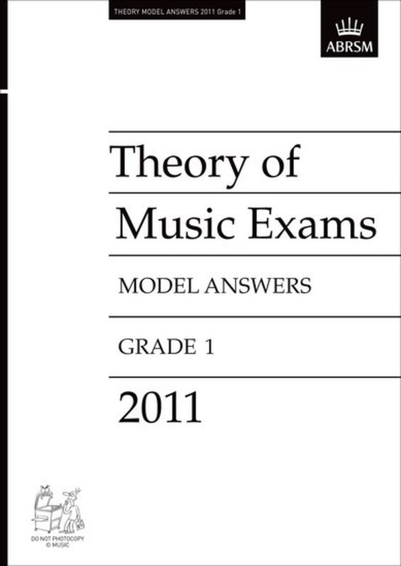 A B THEORY OF MUSIC ANSWERS GR 1 2011