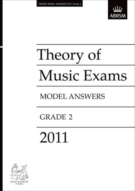 A B THEORY OF MUSIC ANSWERS GR 2 2011