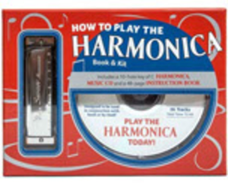 HOW TO PLAY THE HARMONICA BK/ CD/ HARP BOXED KIT