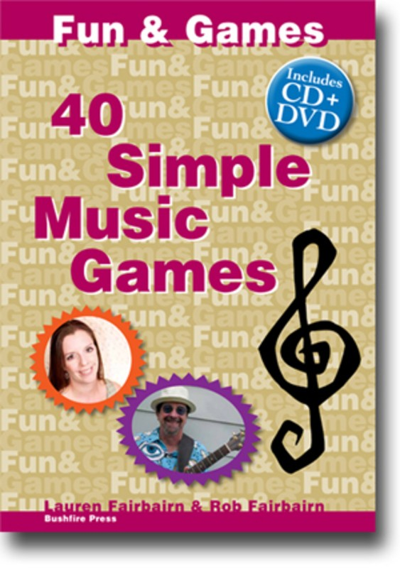 40 SIMPLE MUSIC GAMES BK/CD/DVD