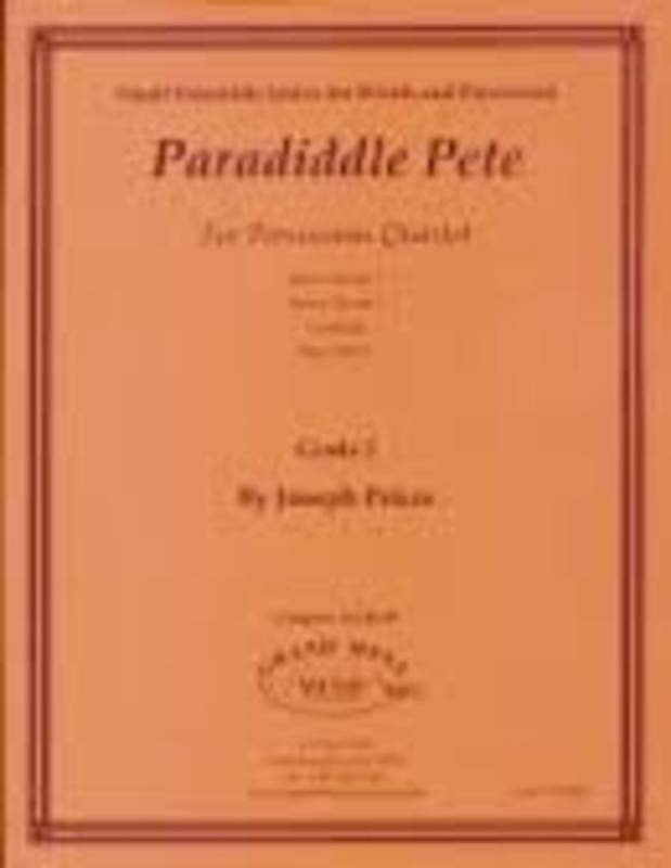 PARADIDDLE PETE PERCUSSION QUARTET GR 2