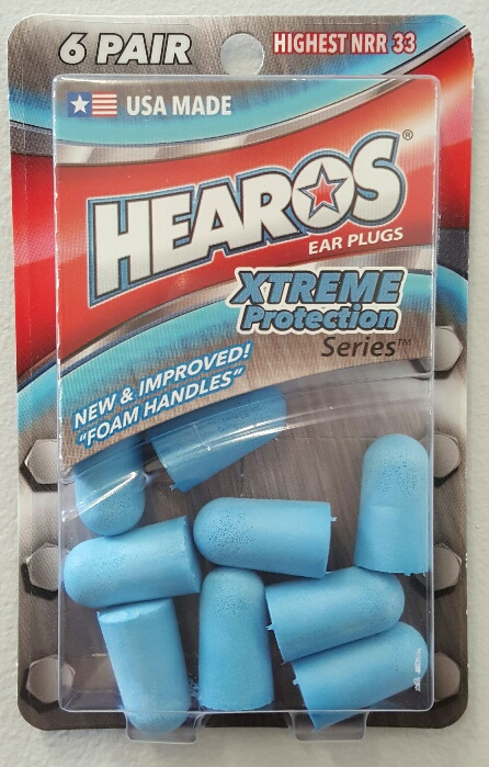 Hearos XTREME Protection Foam Ear Plugs