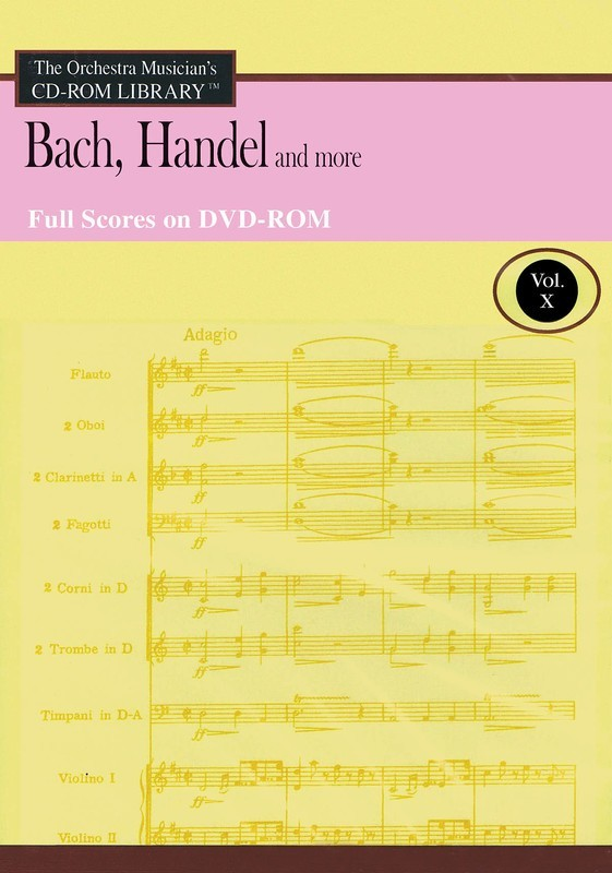 BACH HANDEL & MORE DVD ROM CD ROM LIB V10