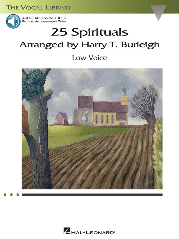 25 SPIRITUALS BK/CD LOW VOICE