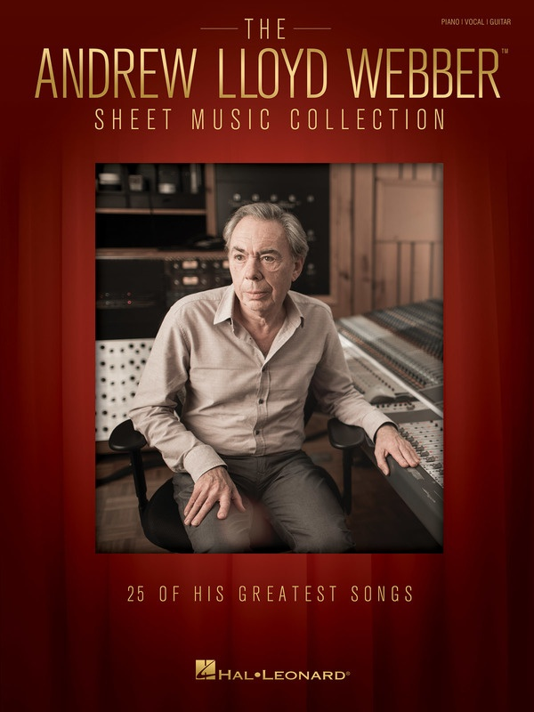 ANDREW LLOYD WEBBER SHEET MUSIC COLLECTION PVG