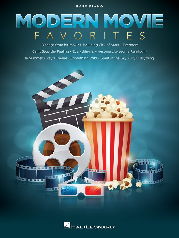 MODERN MOVIE FAVORITES EASY PIANO