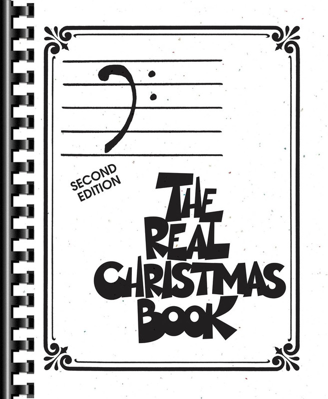 REAL CHRISTMAS BOOK BASS CLEF EDITION