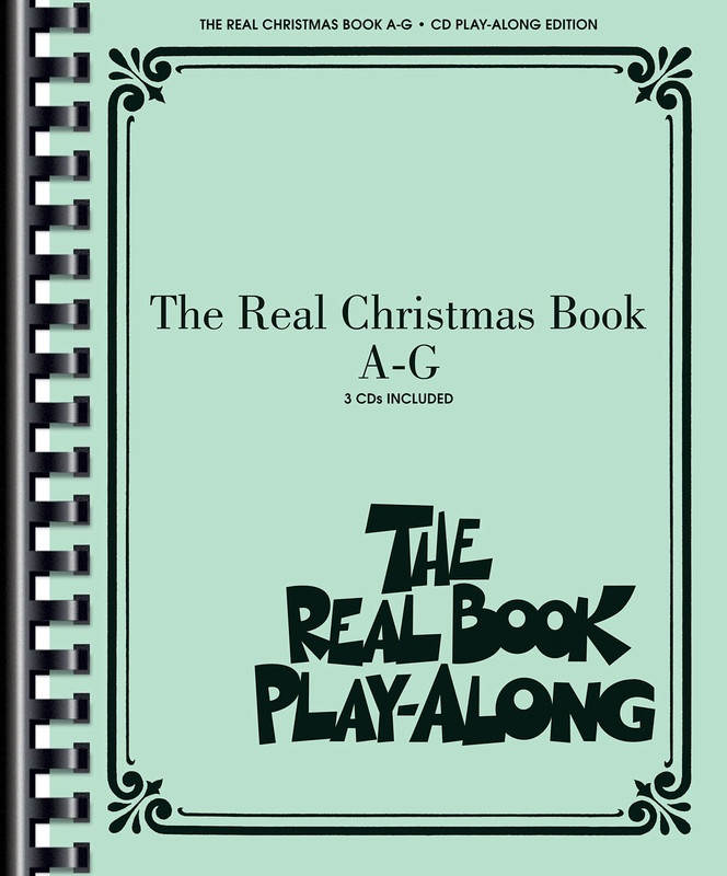 REAL CHRISTMAS BOOK PLAY ALONG VOL  A-G 3CDS