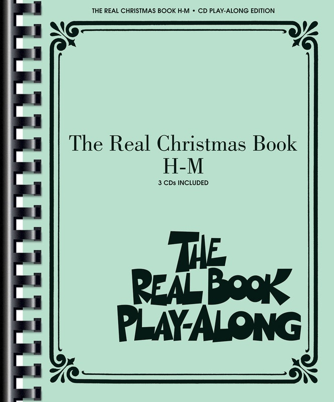 REAL CHRISTMAS BOOK PLAY ALONG VOL  H-M 3CDS