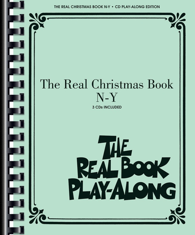 REAL CHRISTMAS BOOK PLAY ALONG VOL  N-Y 3CDS