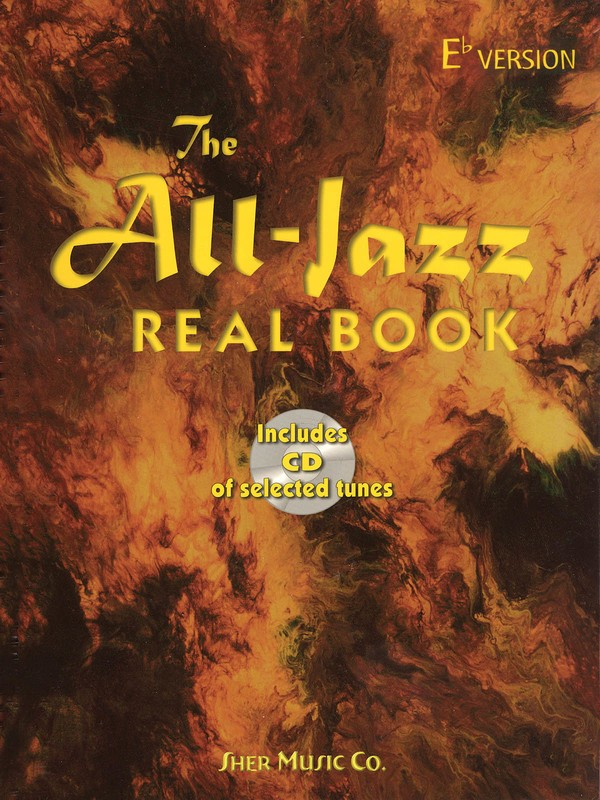 ALL JAZZ REAL BK EB FLAT VERSION  WITH CD