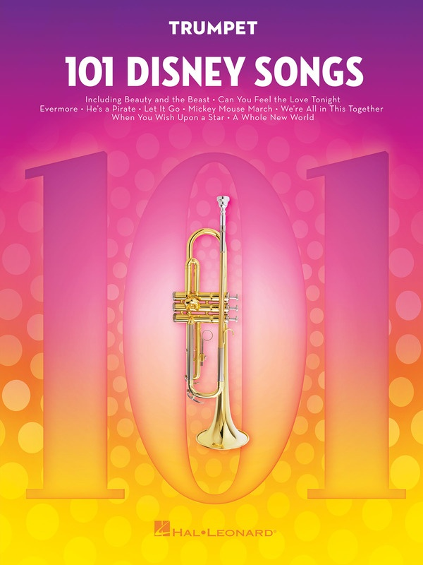 101 DISNEY SONGS FOR TRUMPET