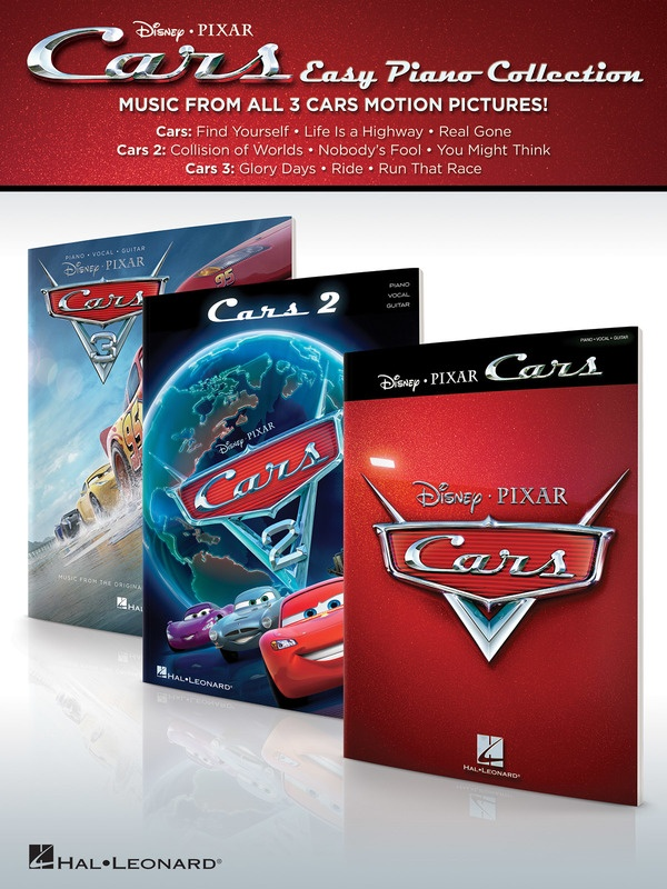 CARS - EASY PIANO COLLECTION