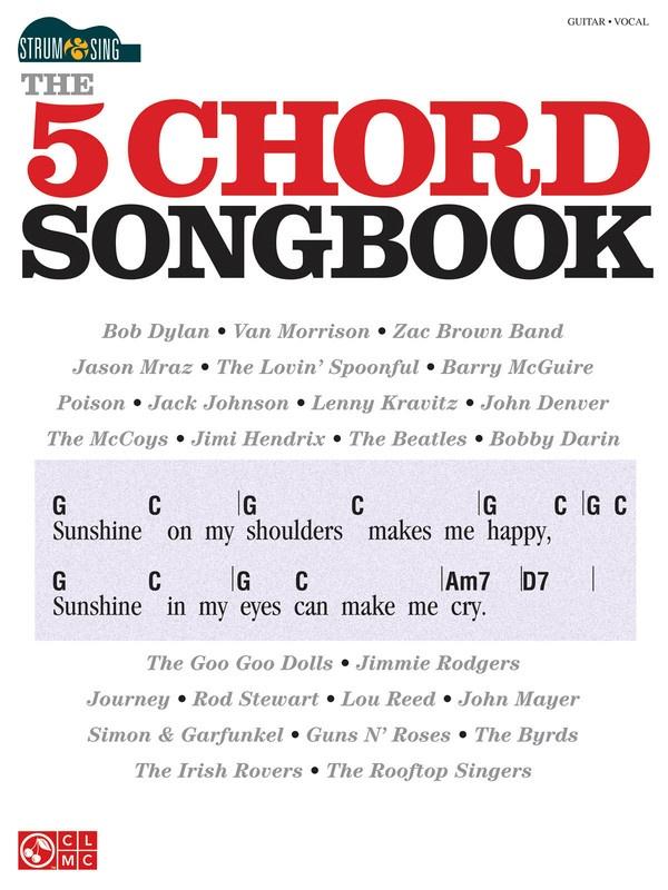 5 Chord Songbook Strum Sing Chords Lyrics