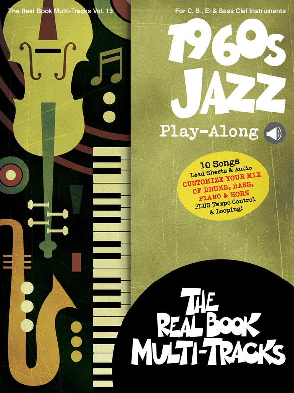 1960S JAZZ PLAYALONG V13 BK/OLM