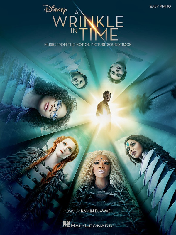 A WRINKLE IN TIME MOVIE SELECTIONS EASY PIANO