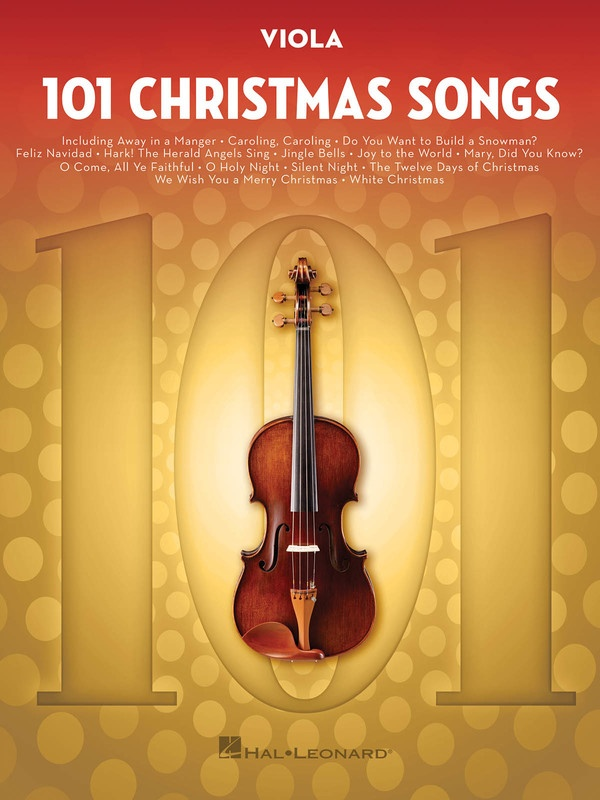 101 CHRISTMAS SONGS FOR VIOLA