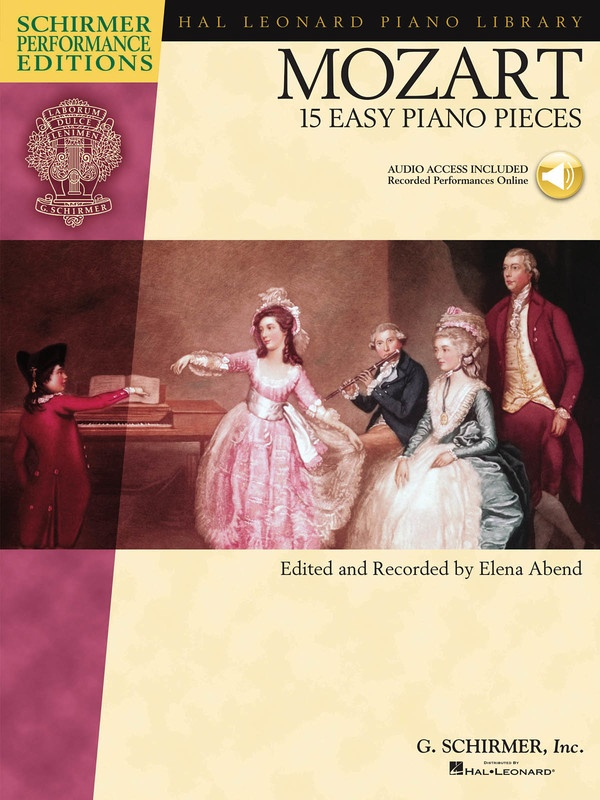 15 EASY PIANO PIECES (MOZART) SPE BK/CD