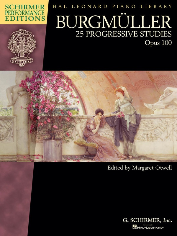 25 PROGRESSIVE STUDIES OP 100 BOOK ONLY