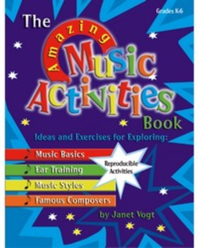 AMAZING MUSIC ACTIVITIES BOOK