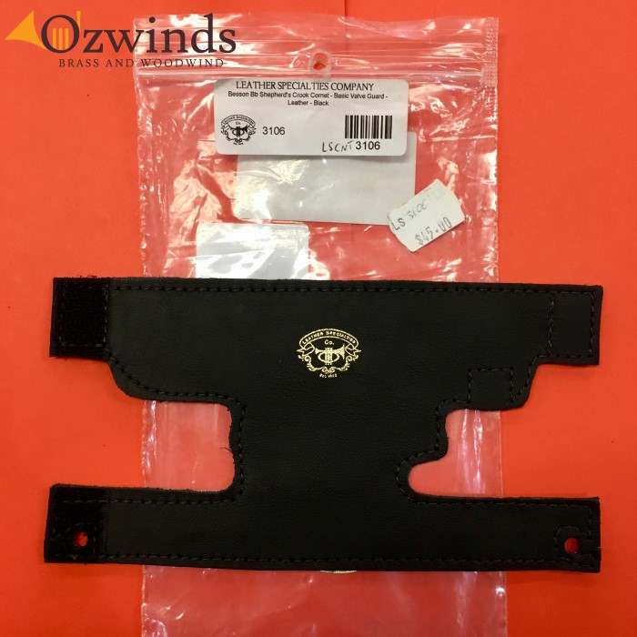 Leather Specialties Cornet Valve Guard #3106