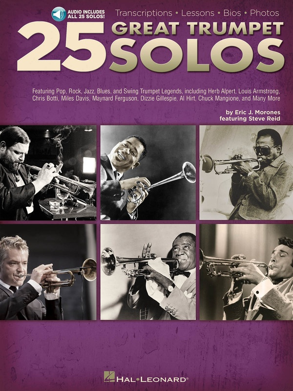 25 GREAT TRUMPET SOLOS BK/OLA