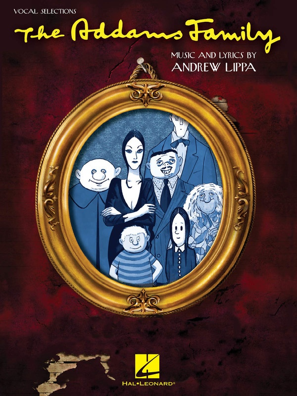 ADDAMS FAMILY SELECTIONS PVG VOCAL W PIANO ACC