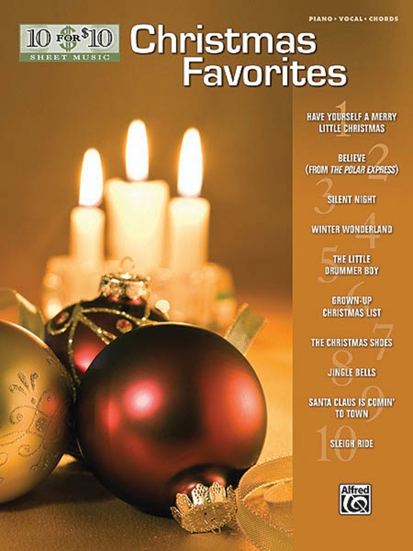 10 For 10 Christmas Favorites Pvg