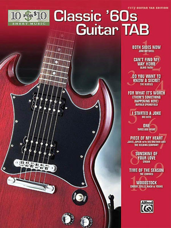10 FOR 10 CLASSIC 60S GUITAR TAB