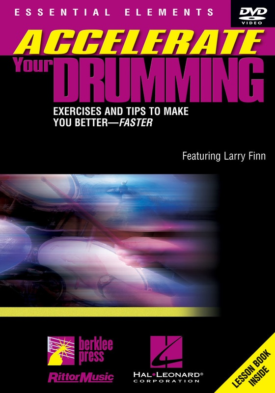 ACCELERATE YOUR DRUMMING PLAYING DVD
