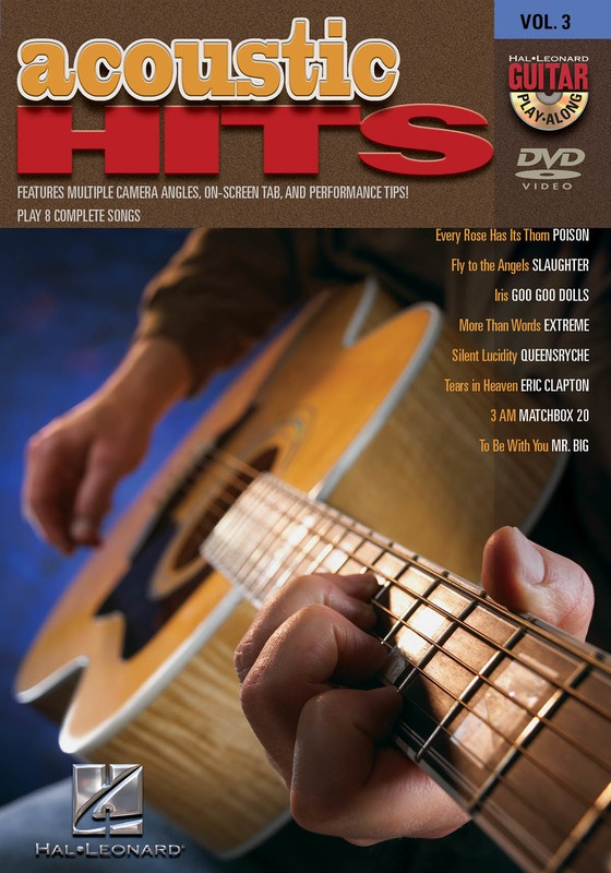 ACOUSTIC HITS GUITAR PLAY ALONG DVD V3
