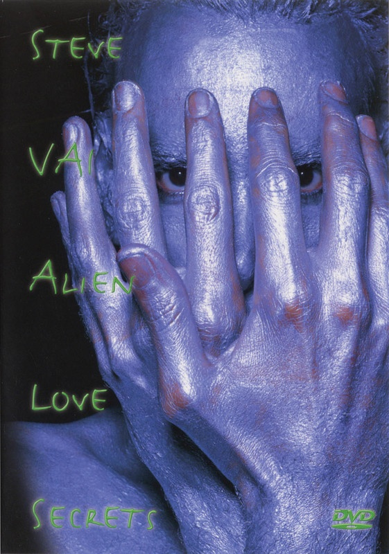 ALIEN LOVE SECRETS STEVE VAI GUITAR DVD