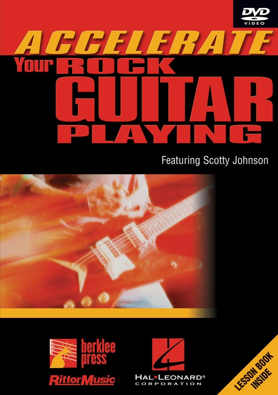 ACCELERATE YOUR ROCK GUITAR PLAYING DVD