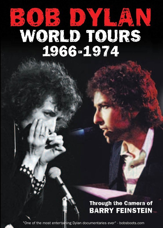 BOB DYLAN WORLD TOURS 1966 -1974 DVD
