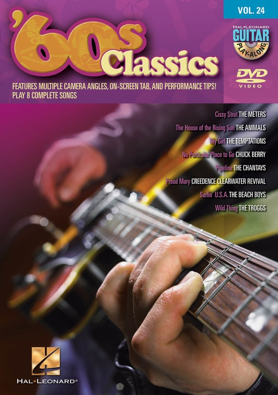 60S CLASSICS GUITAR PLAY ALONG DVD V24