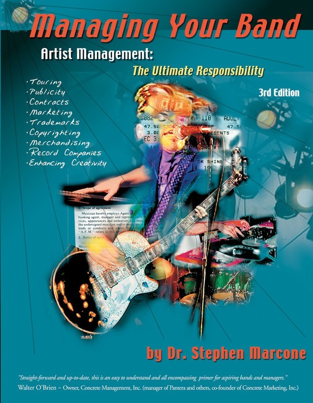 MANAGING YOUR BAND 3RD EDITION