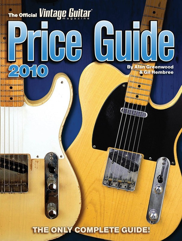 2010 Official Vintage Guitar Magazine Price Guid