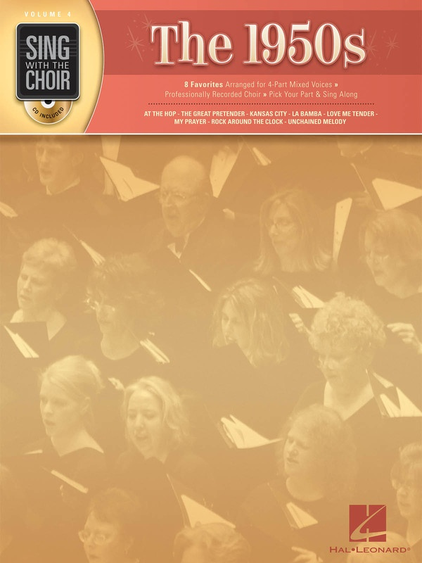 1950S SING WITH THE CHOIR BK/CD V4