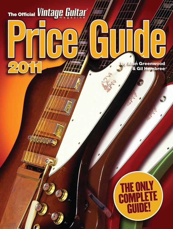 2011 Official Vintage Guitar Magazine Price Guid