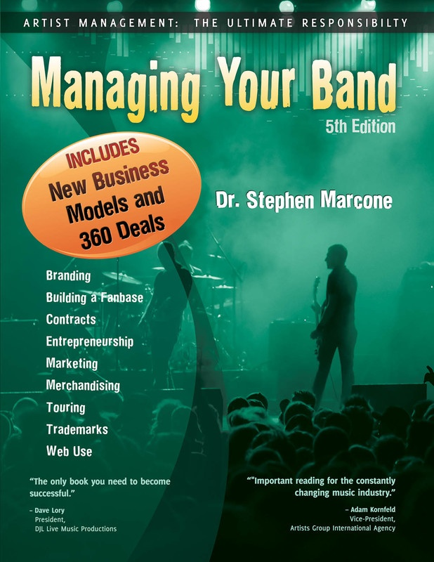 MANAGING YOUR BAND 5TH EDITION