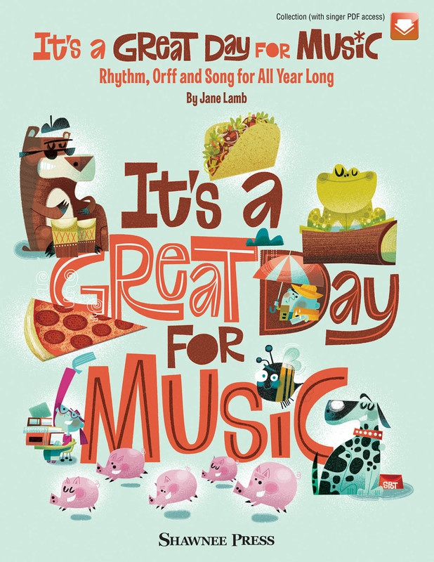 ITS A GREAT DAY FOR MUSIC ORFF BK/OLM