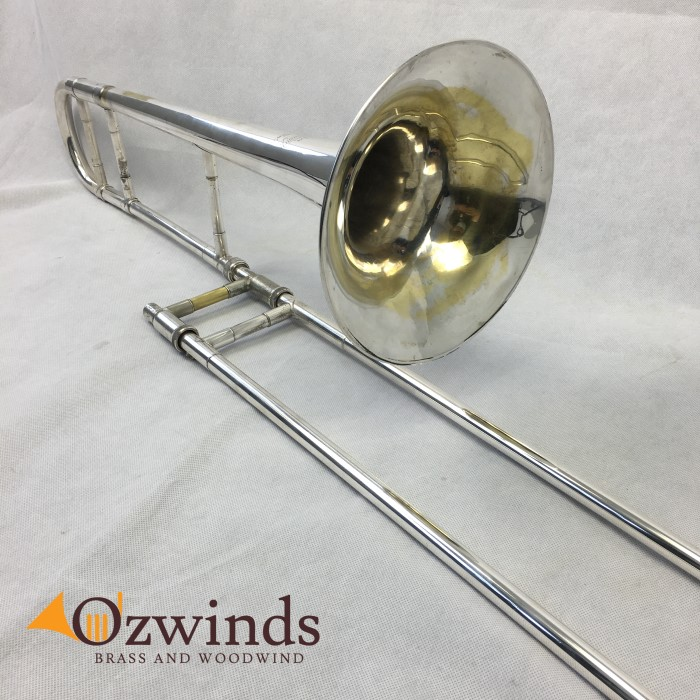 Bach Stradivarius 36 (NOW SOLD) Silver Tenor Trombone #24006 USED