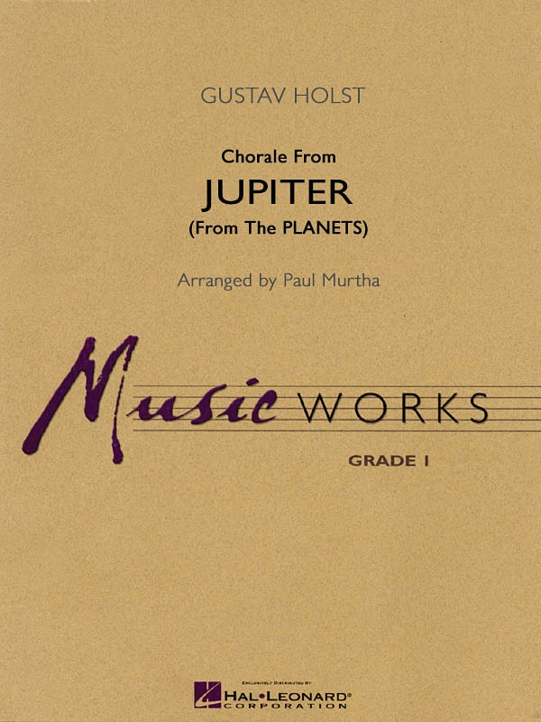 CHORALE FROM JUPITER MW1 W/CD