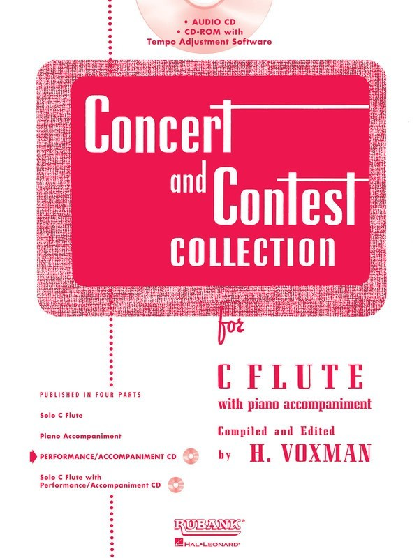 Concert And Contest Flute CD Only