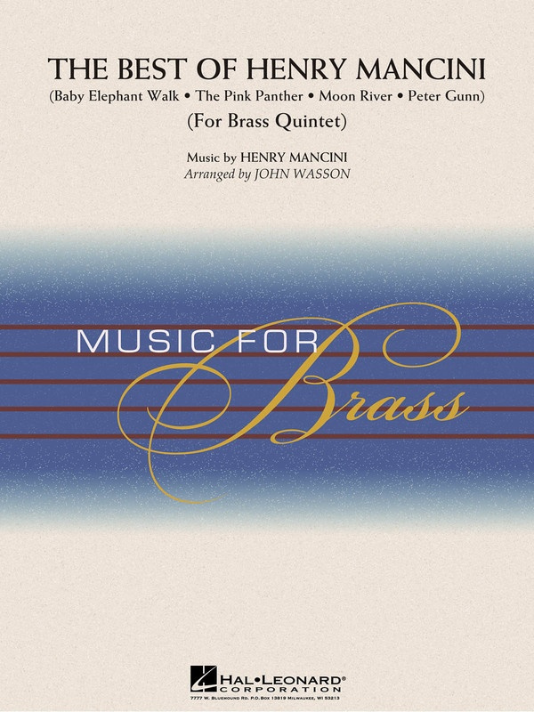 BEST OF HENRY MANCINI BRASS QUINTET