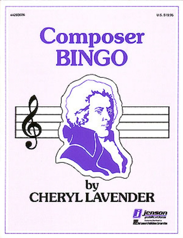 COMPOSER BINGO GAME