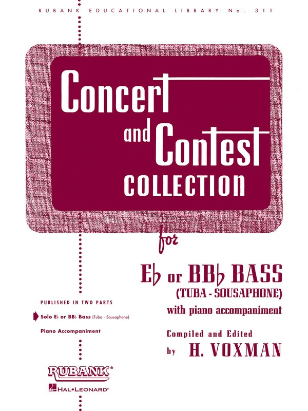 Concert And Contest Tuba Piano Accompaniment
