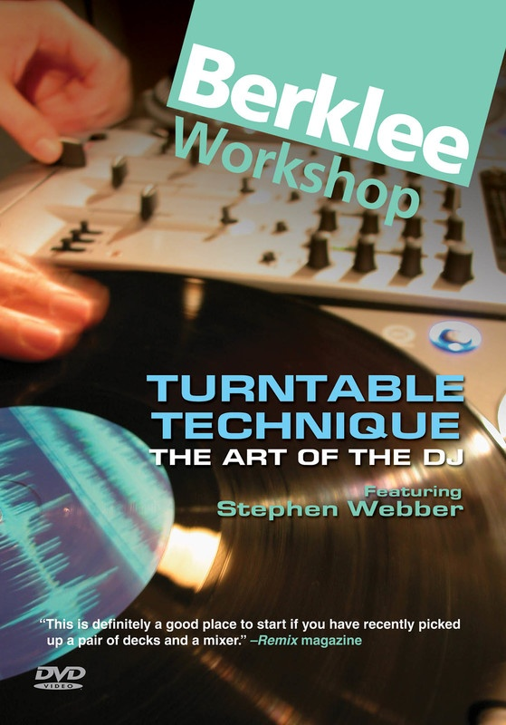 TURNTABLE TECHNIQUE ART OF THE DJ DVD