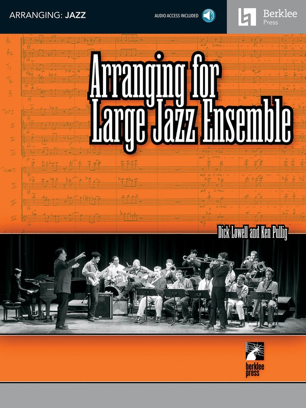 ARRANGING FOR LARGE JAZZ ENSEMBLE BK/CD